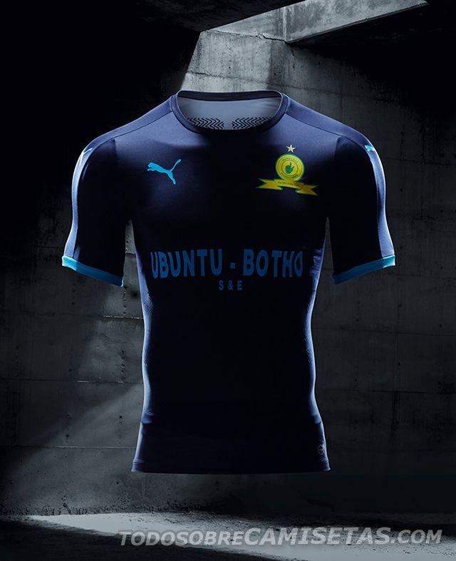 82f99ffd1 Mamelodi Sundowns Puma third kit 2017-18 - Todo Sobre Camisetas ...