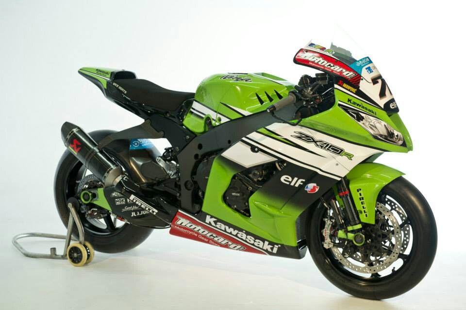 2014 World Superbike Kawasaki ZX-10R