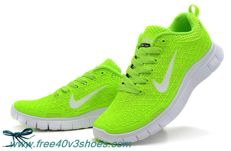 new style 8d464 80e83 Store Womens Nike Free 6.0 Volt Neon Green White Shoes