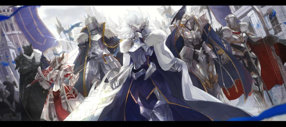 Fate/GrandOrder 神聖円卓領域キャメロット MONOのイラスト in 2020 Anime