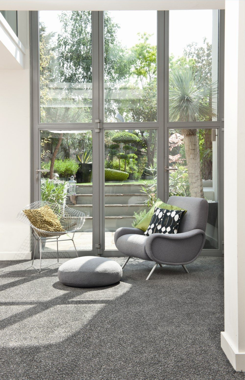Create A Timeless Luxury With Soft Grey Carpet And Furniture
