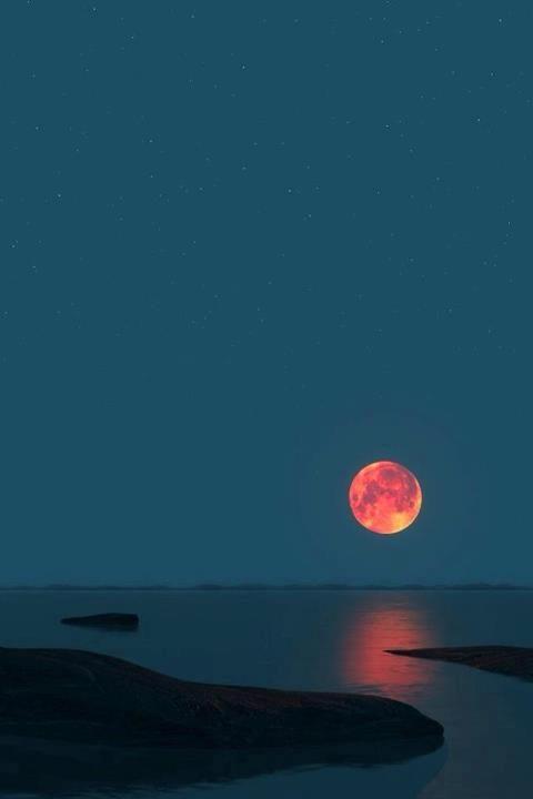 Gorgeous moon!!