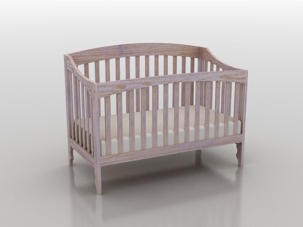 Jameson panel crib for sale - Lolly Me Sawyer 4 In 1 Convertible Crib Shown In Whitewash Finish Usa Made