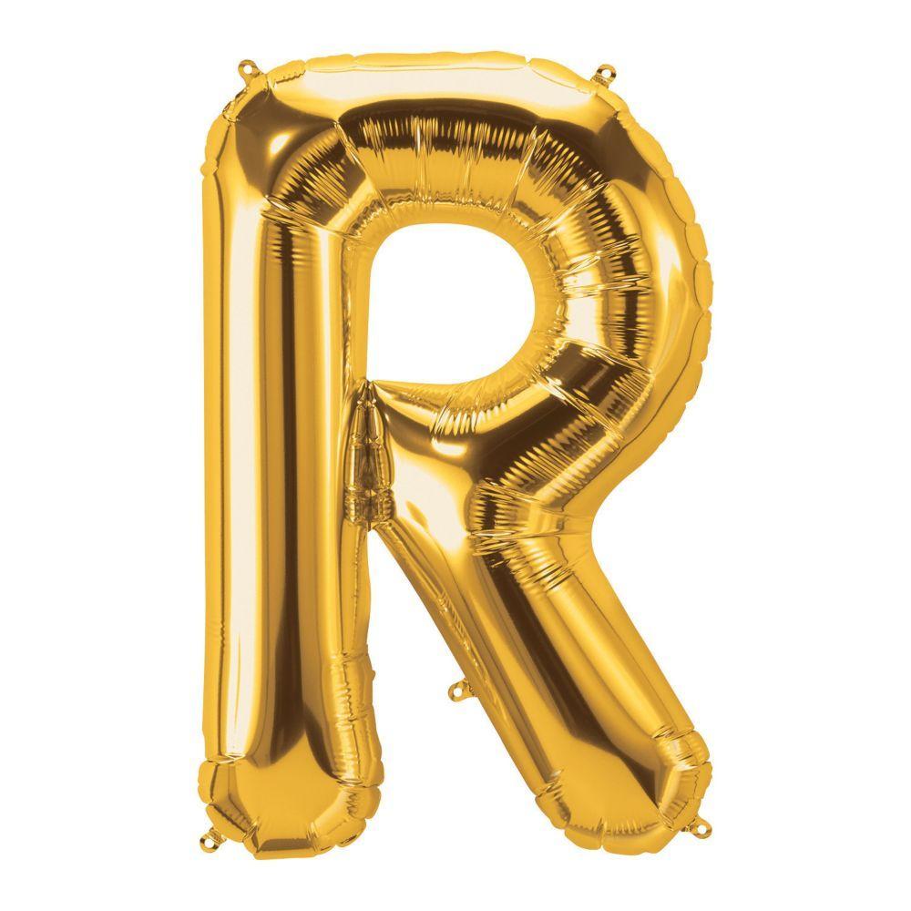 R Gold Letter 34 In 2021 Gold Letter Balloons Gold Letters Lettering