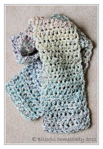 Simple Scarf Crochet Pattern This Scarf Is Perfect For Beginners