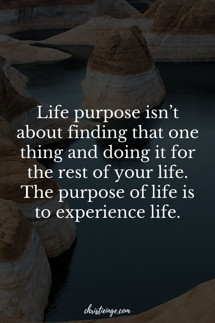 Why I Don't Recommend Looking for Your Life Purpose