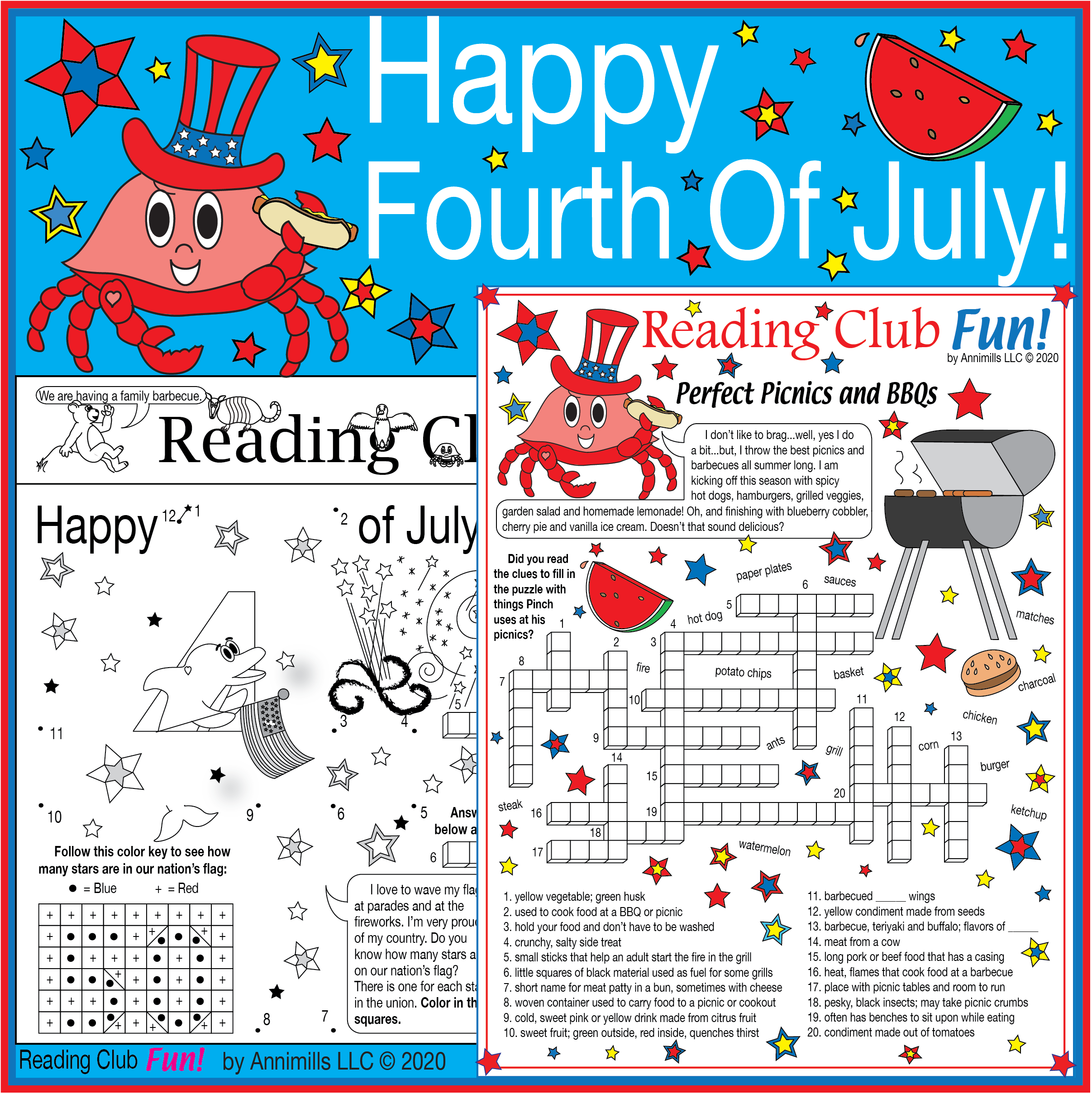 Fourth Of July Declaration Of Independence Fun Puzzle