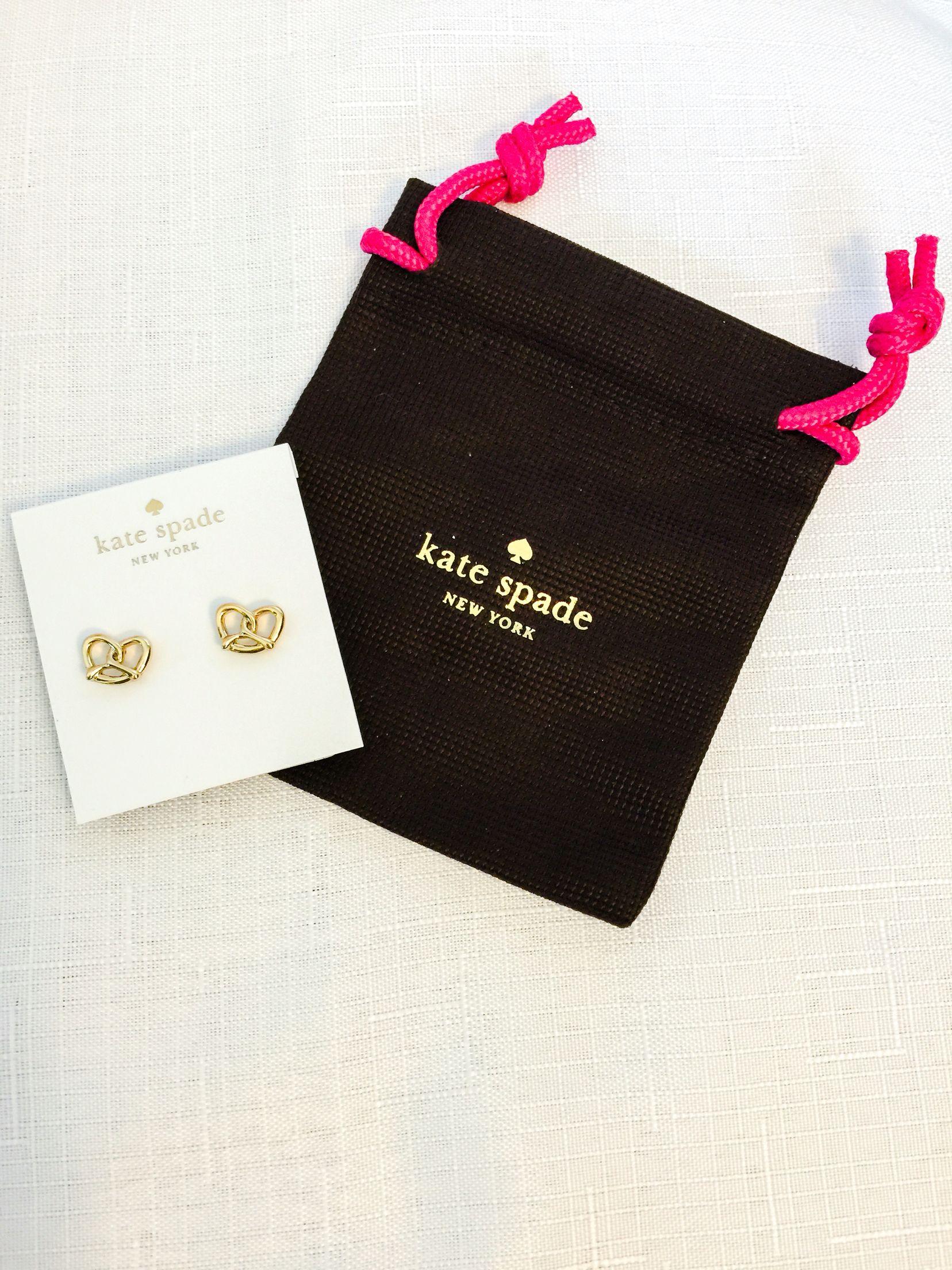 New Kate Spade Pretzel Earrings Visit My Poshmark Closet