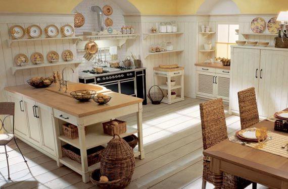 Cocinas para una casa de campo cocinas de casa casa de - Cocinas casa de campo ...