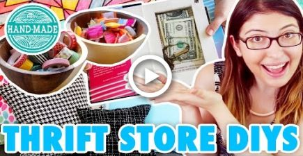 5 Ways to Make Your Thrift Store Finds AWESOME - HGTV Handmade #thriftstorefinds