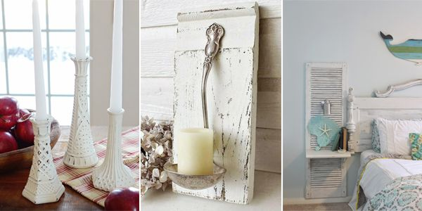 Here you will find 16 different DIY shabby chic decor ideas that will make your home look amazing!
