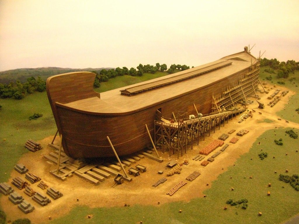 noah u0027s ark is being re constructed at the creation museum in