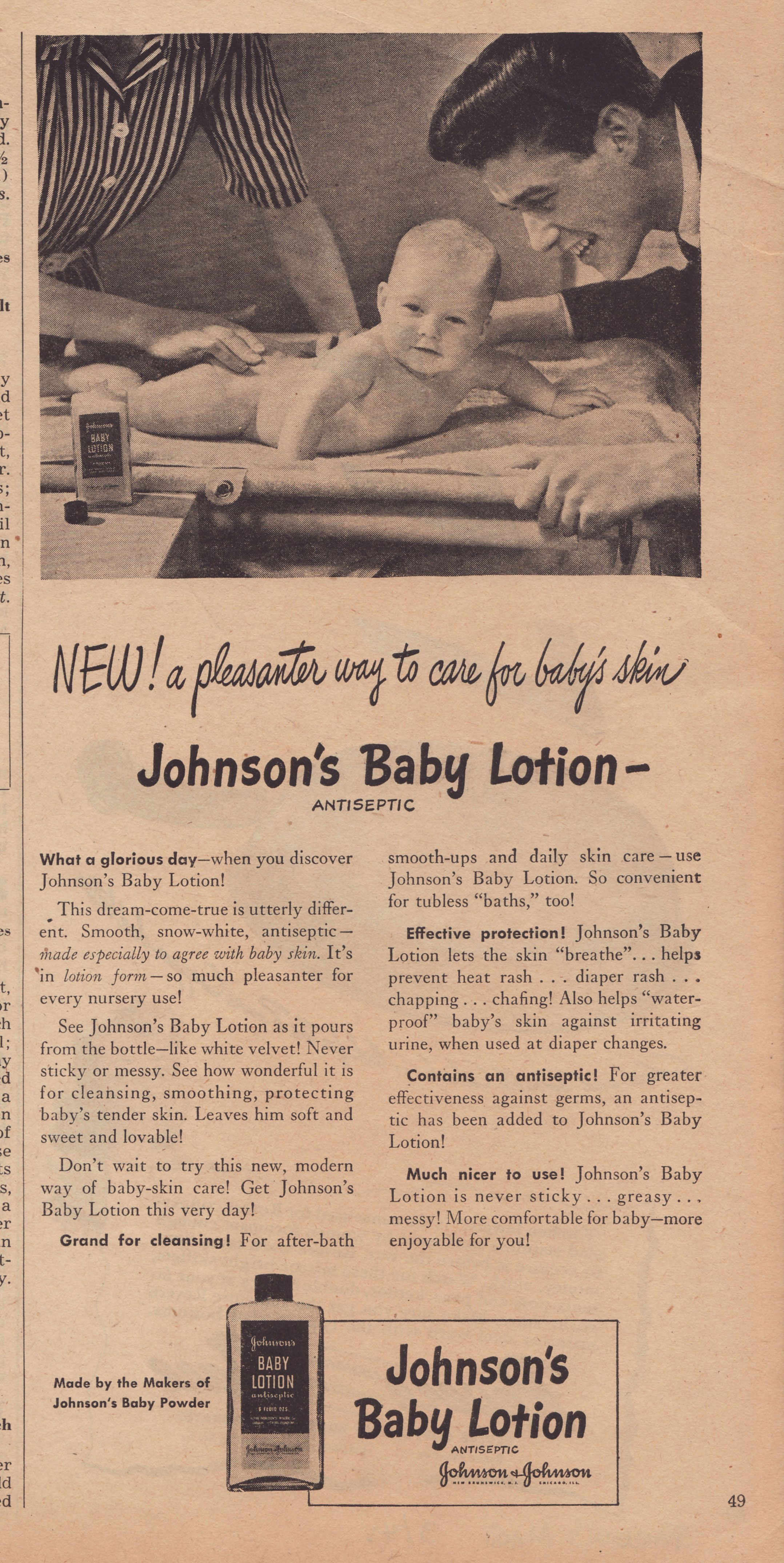 9 Adorable Vintage Johnson & Johnson Baby Ads in 2020