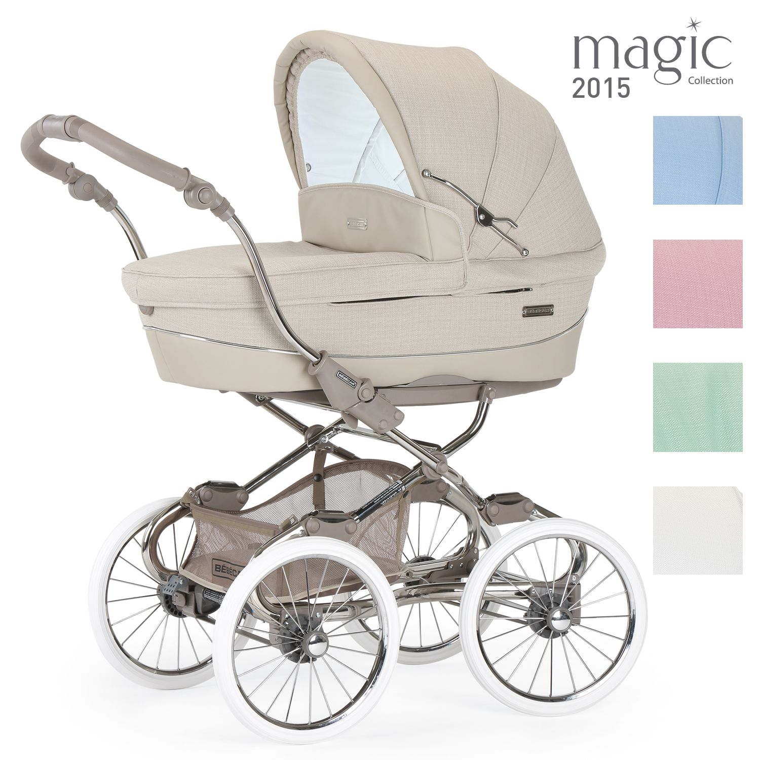 NOVELTY BEAUTIFUL LUXURY PRAM 2IN1 ROAN SOFIA RETRO STYLE 1960s