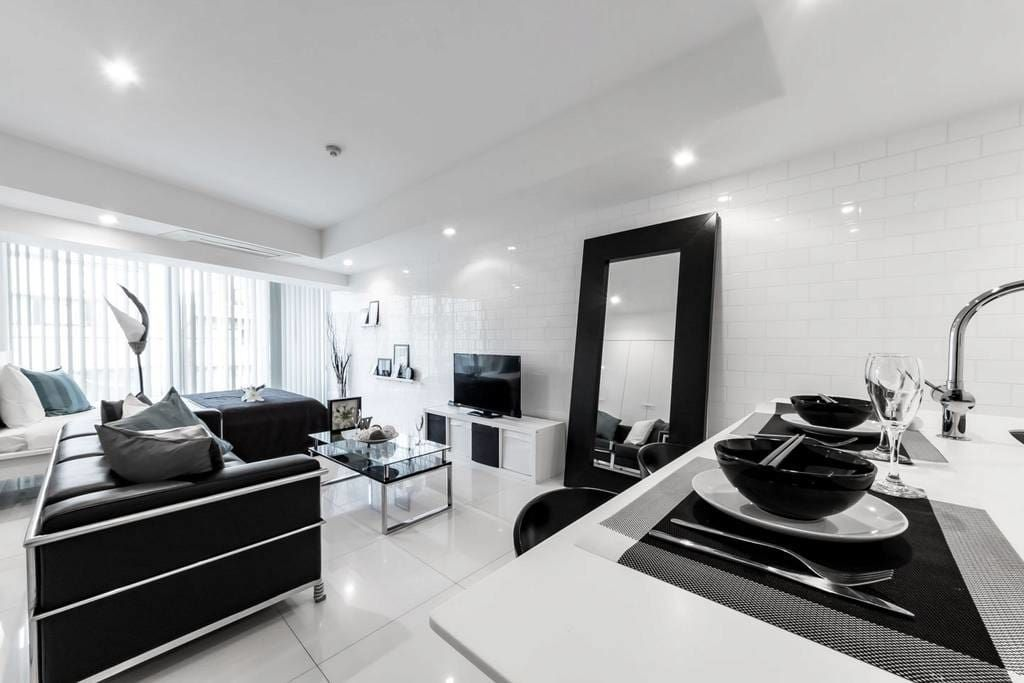 Check Out This Awesome Listing On Airbnb Stylish Modern Tokyo Shia 7 Min Apartments For Rent In Ku