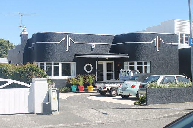 Art Deco house Boulcott Lower Hutt NZ Deco Danny Flicker