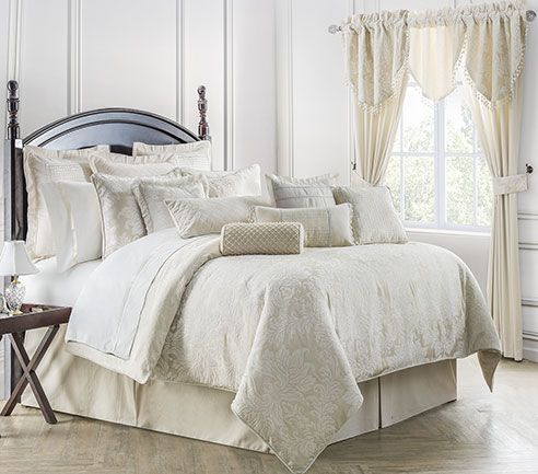 Paloma Ivory By Waterford Luxury Bedding Beddingsuperstore Com Comforter Sets Luxury Bedding King Comforter Sets