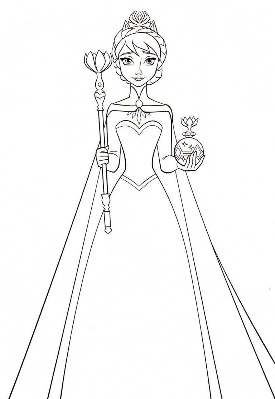 Elsa Coloring Pages K5 Worksheets In 2020 Elsa Coloring Pages Disney Princess Coloring Pages Disney Coloring Pages