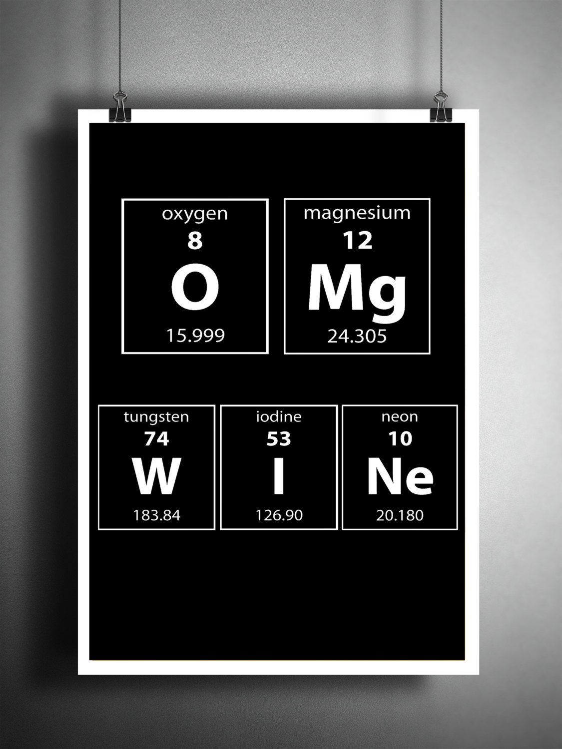 Wine art periodic table art wine gift omg wine wine art print wine art periodic table art wine gift omg wine wine art print periodic table art gift for her gift for wine lover gamestrikefo Image collections