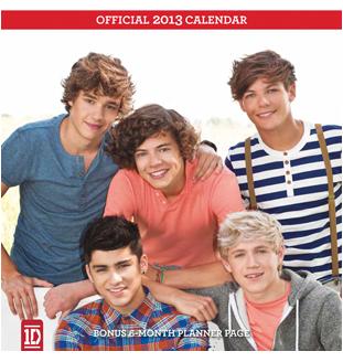 1d 2013 Calendar Selebritas Zayn Fotografi Warna