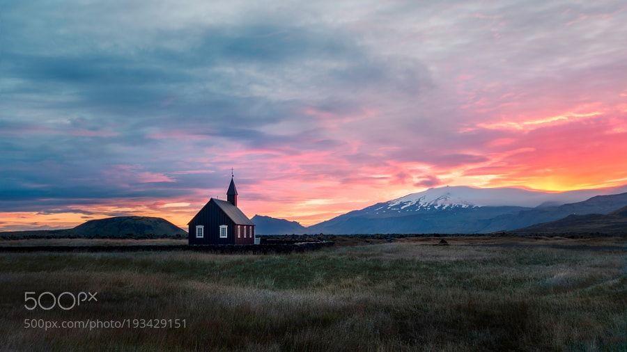 Sunset over Budir by wimdenijs via http://ift.tt/2it7sG8