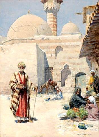 Orientalisches Stadtmotiv