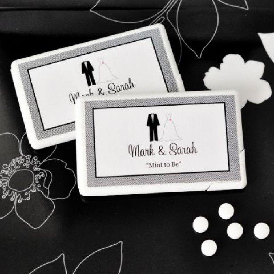 Personalized Mini Mints Wedding Favors [EB2211T Personalized Mini ...