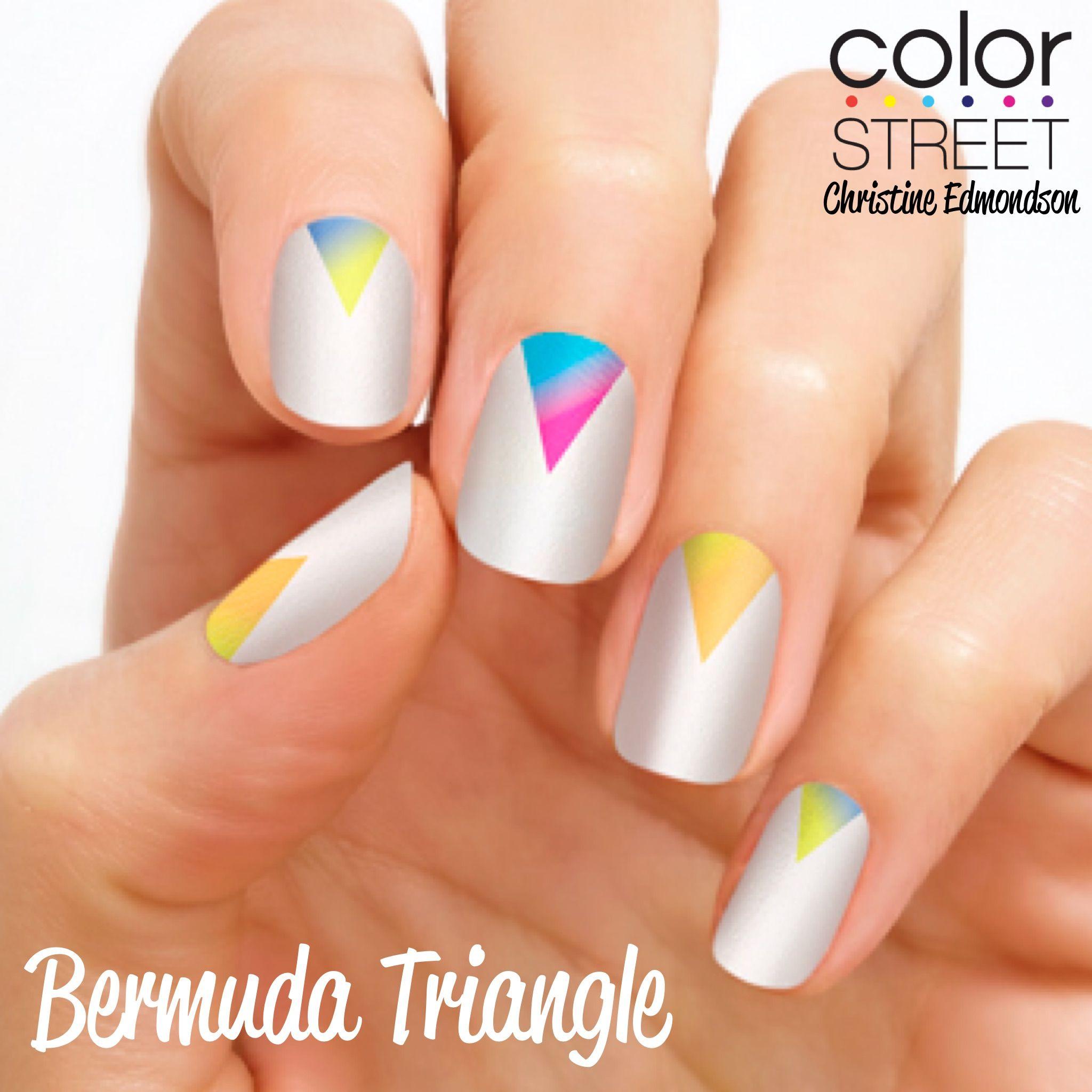 Bermuda Triangle - 100% nail polish strips that require NO tools, NO ...
