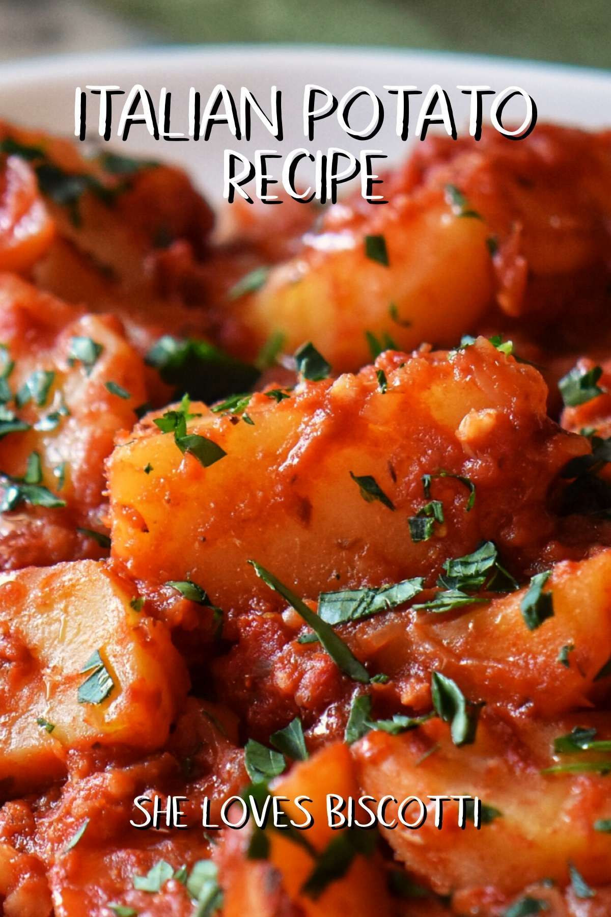 Photo of Italian Potato Recipe with Tomatoes and Onions