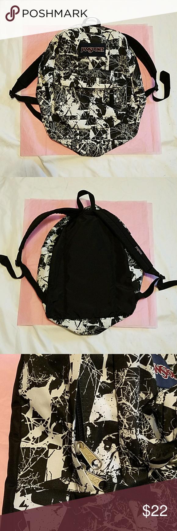"""Jansport backpack. Jansport backpack.size large 17"""" h and"""