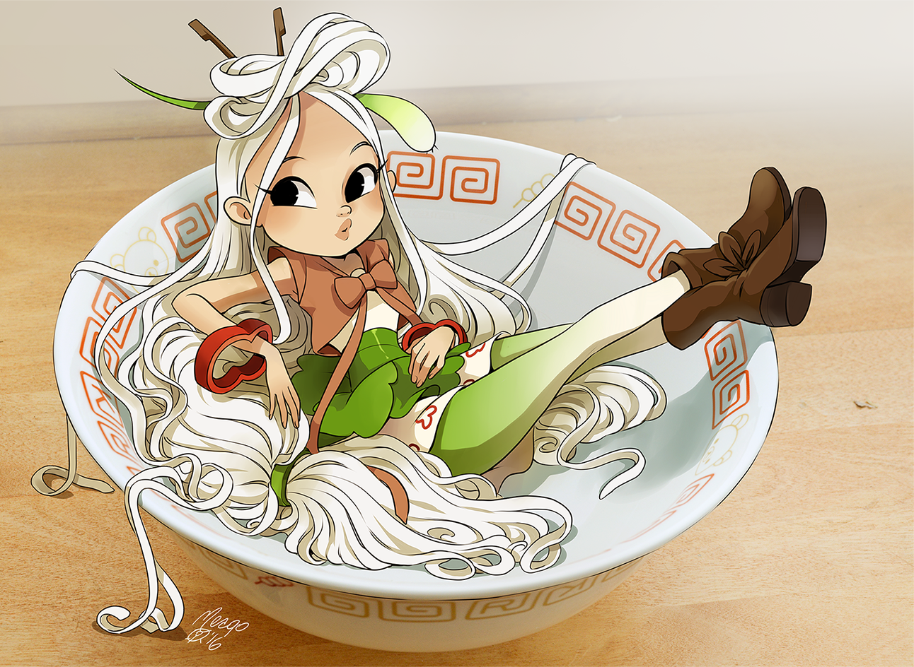 Pho by on DeviantArt Cute food