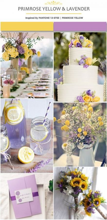 New Wedding Spring Yellow Lavender Ideas New Wedding Spring Yellow Lavender Ideas
