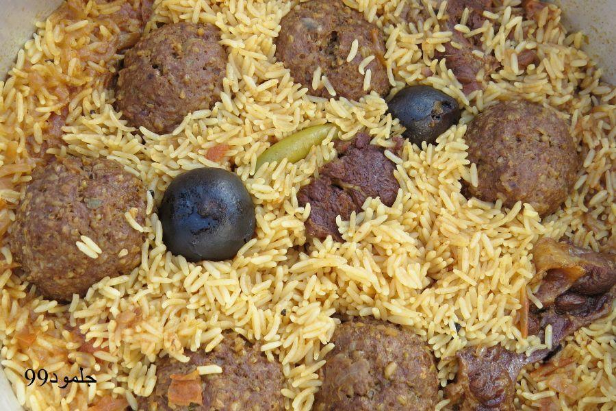 كبة الحاشي على الطريقة العلاوية شمال الحجر لجلمود99 منتديات مكشات Arabic Food Food Grains