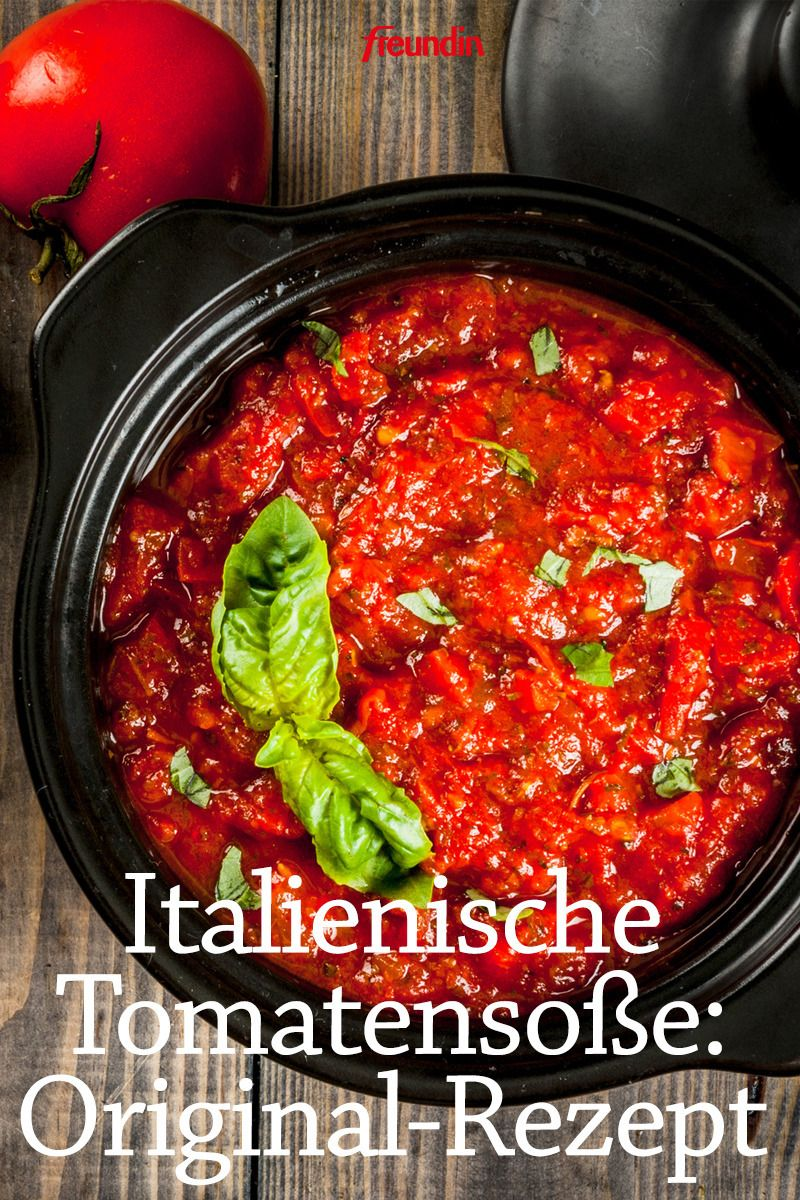 Rezept-Video: Italienische Tomatensoße #stuff