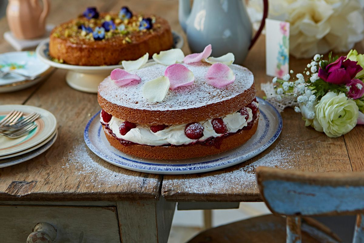 Mothers Day baking recipes Jamie oliver Cake and Food