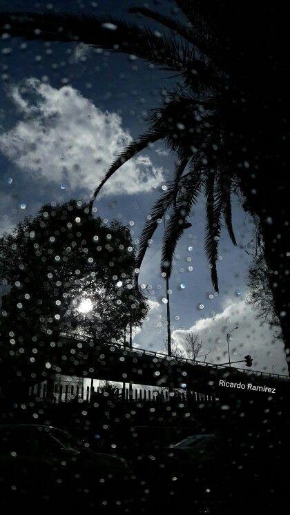 Lluvia con Sol. Ciudad de México.