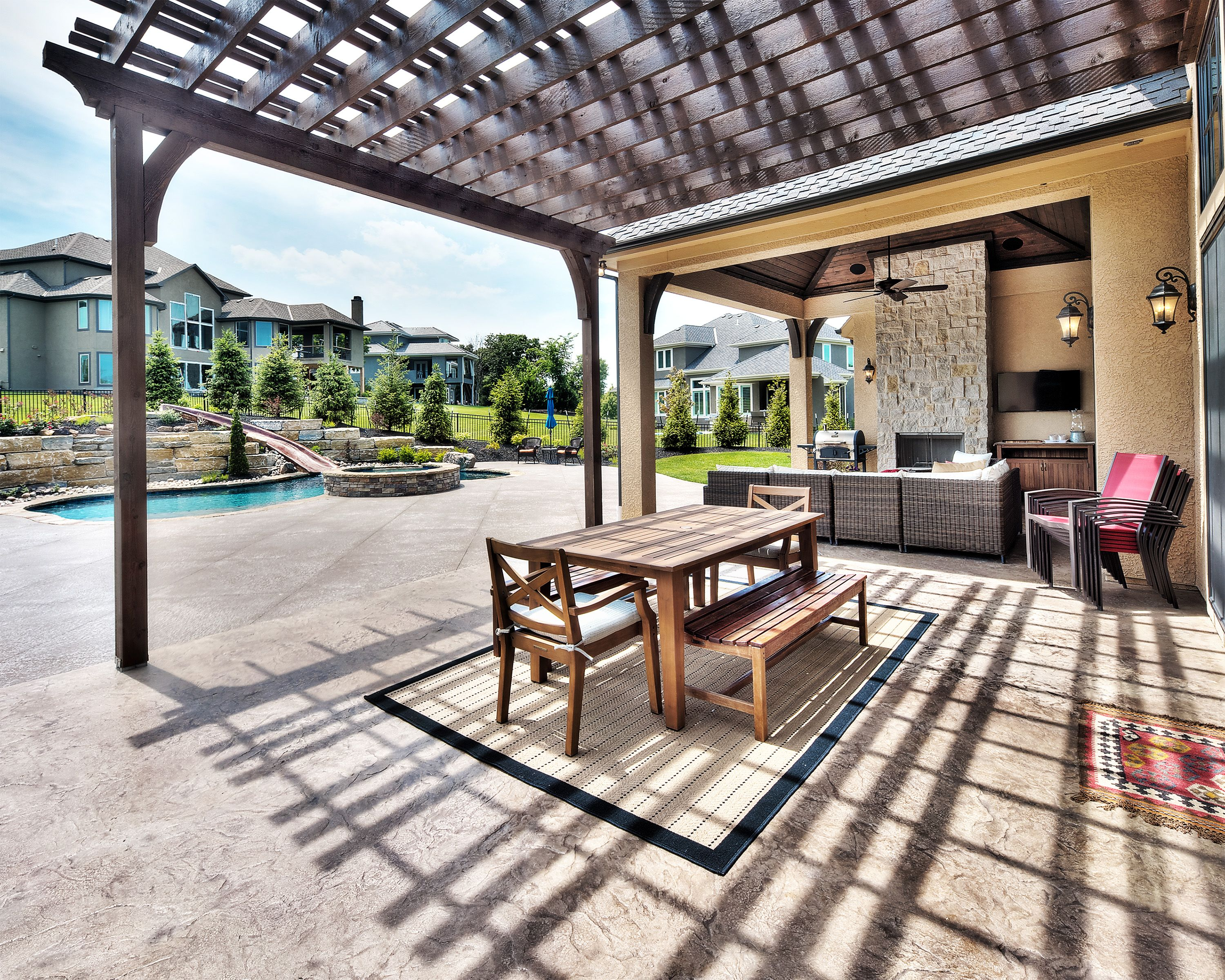 Genial Starr Homes Patio And Pool