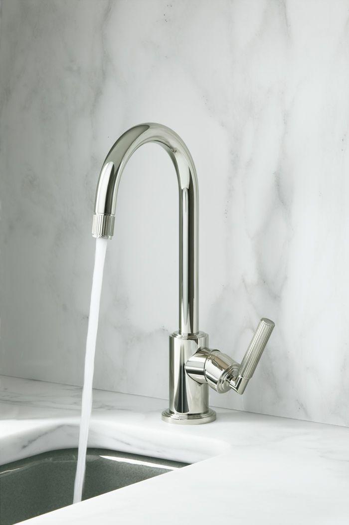 Vir Stil kitchen faucet by Laura Kirar for KALLISTA #kallista ...