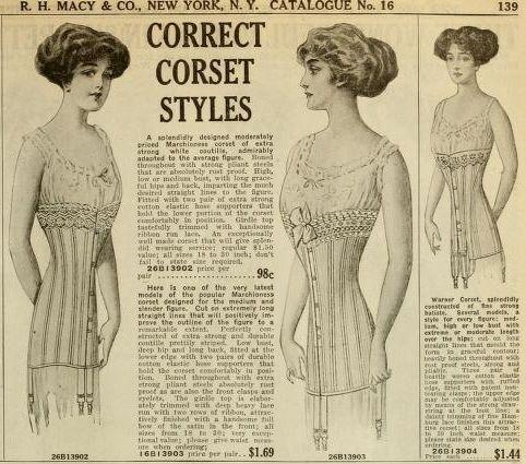1911 corset ad  corset male sketch sketches