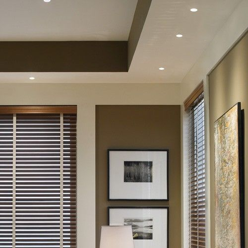 The 3 led wall wash trim from the element recessed lighting collection by tech lighting