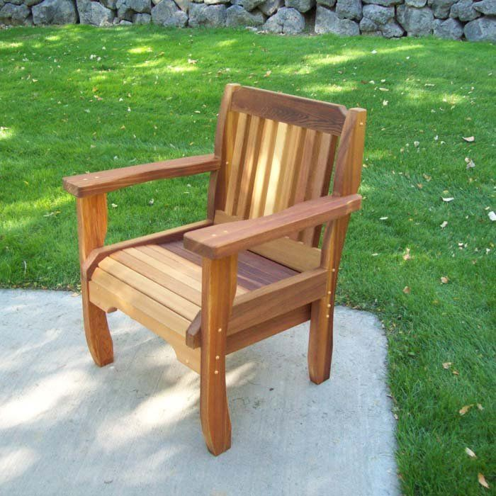 Cabbage Hill Outdoor Wood Chair At Brookstone Now