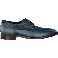 Floris Van Bommel Business Schuhe 18297 Blau Herren Floris van Bommel – Business outfits
