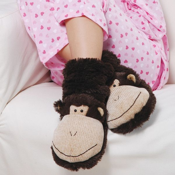Aroma Home USA | Fun for feet slipper socks monkey Fun for feet slipper socks range
