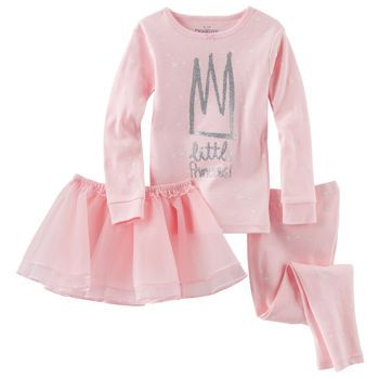 3-Piece Jersey Tutu PJs | Kid, Girls and Tutus