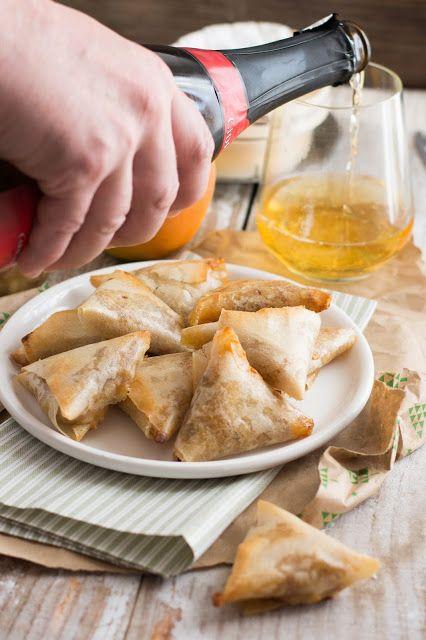 Chic, chic, chocolat...: Samoussas aux pommes et camembert