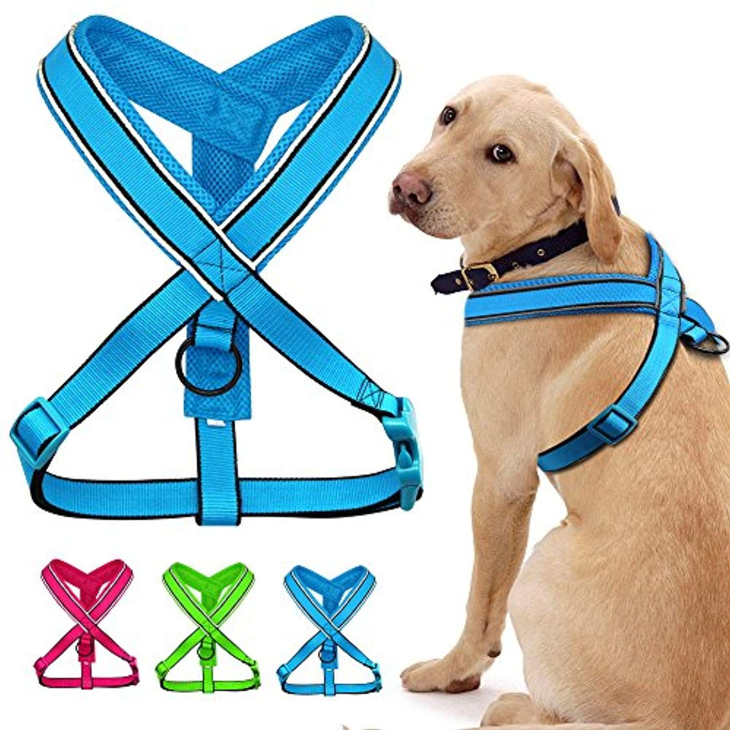 Didog Soft Padded Reflective Dog Harness For Medium And Large Dogs