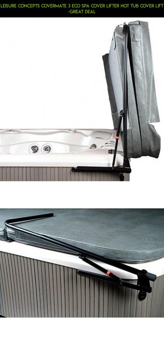 Leisure Concepts CoverMate 3 ECO Spa Cover Lifter Hot Tub Cover Lift ...