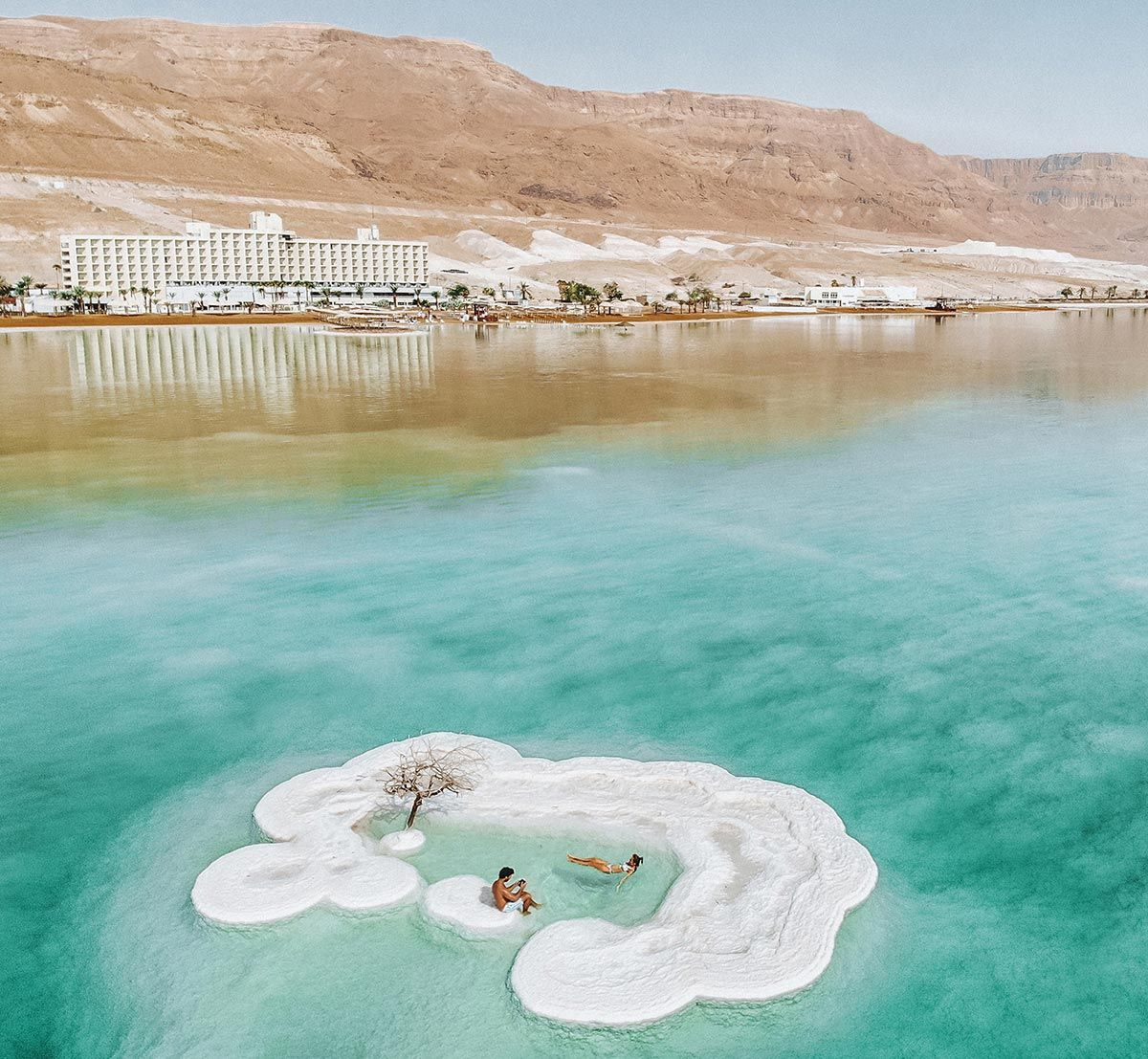 Dead Sea Drone Shot Herods Hotel Israel Travel Zen Place Travel Around The World