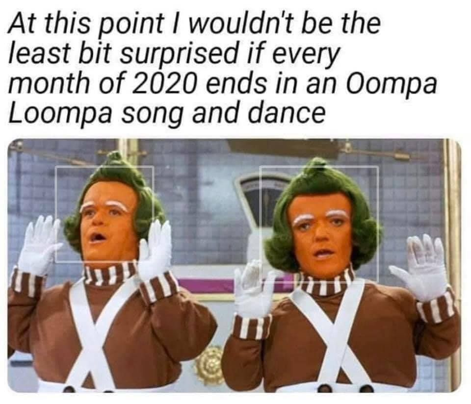 2020 Oompa Loompa Song Funny Relatable Memes Really Funny Memes Stupid Funny