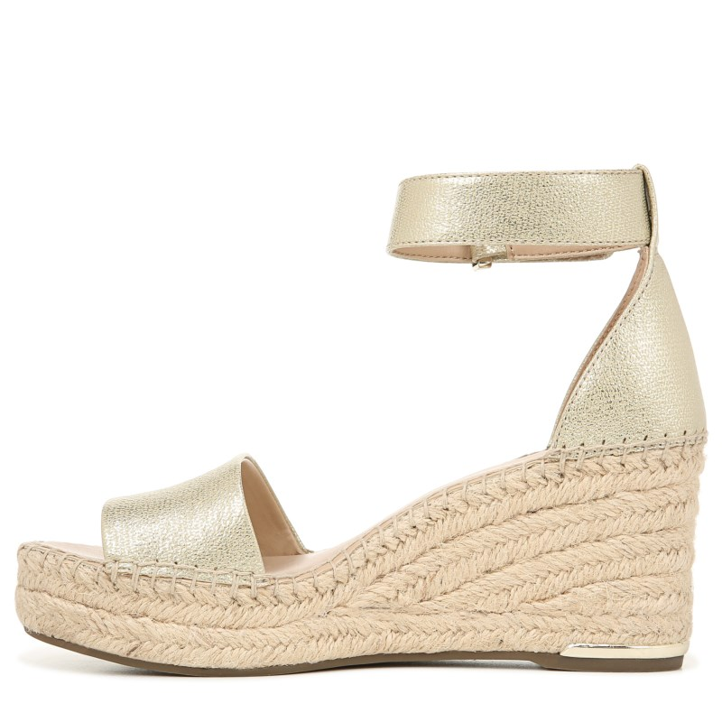 d5290c67076 Franco Sarto Women s Clemens Espadrille Wedge Sandals (Gold Silver ...